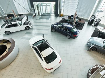 Car showroom